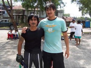With GM Nick Elizar, 2006
